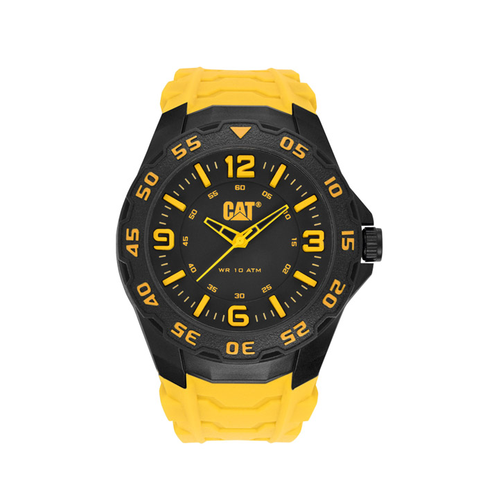 Motion Mens Rubber Seconds Watch Catlb 111 27 137
