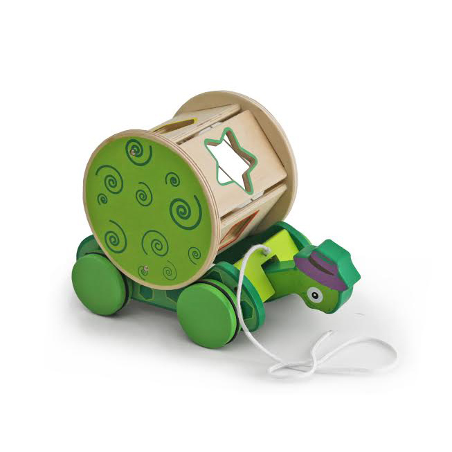 Toy Wooden Turtle