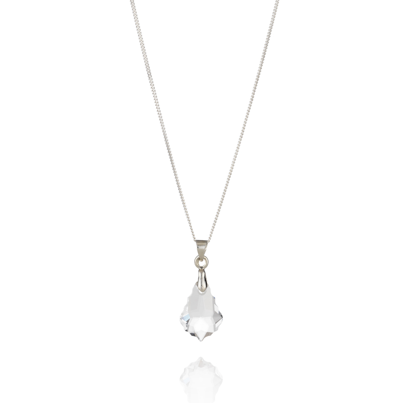 Diamond Style Swarovski Elements Traditional Pendant