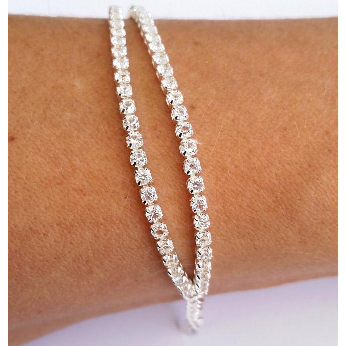 Double Silver Bracelet