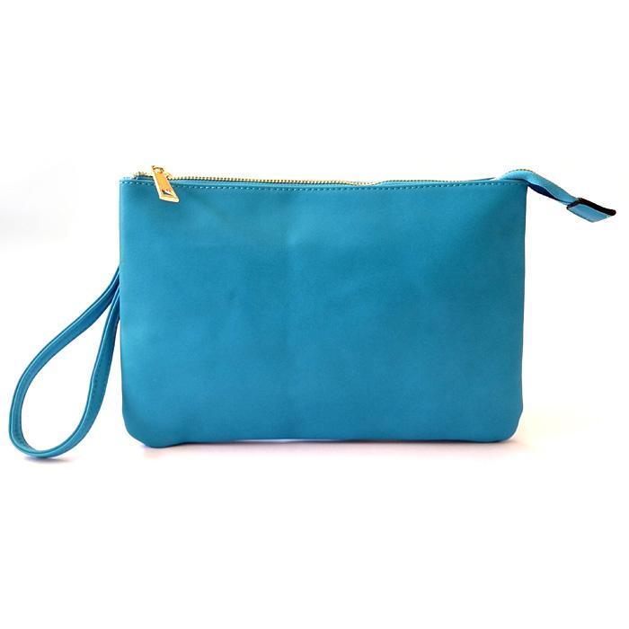 Dudlin Spring Slimline Shoulder Bag Blue