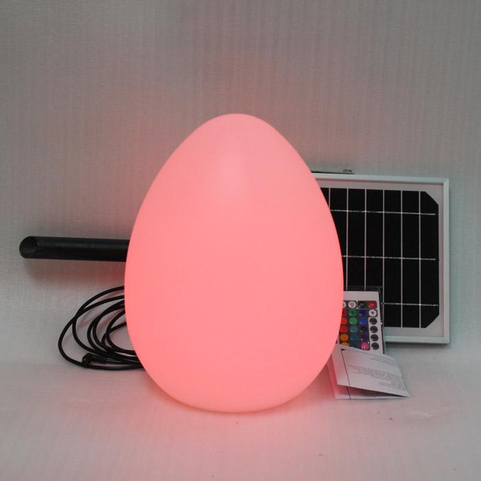 Solar Garden Egg Small