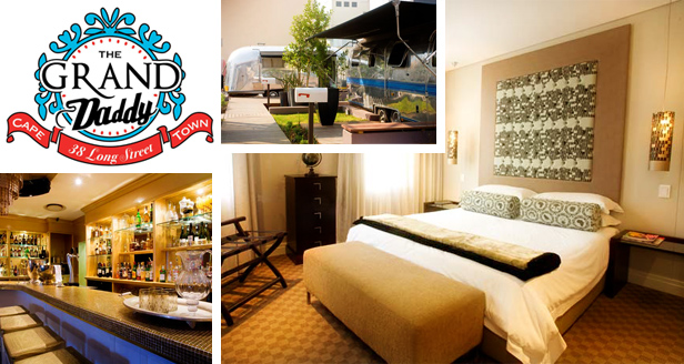 One-night stay at the Grand Daddy hotel (Cape Town) for an incredible R990 per couple (value R1650)