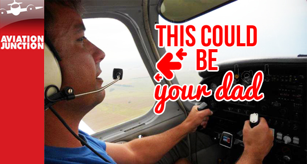 Give dad the gift of flight with a 1 hour fixed-wing flight from Aviation Junction for only R999 (value R2800)