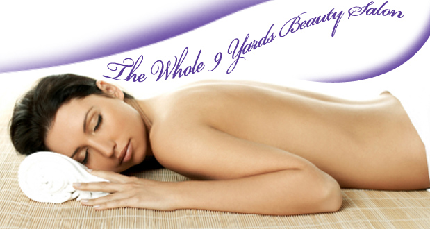 Relax with 2 30-minute back and neck massages at The Whole 9 Yards Beauty Salon (Randpark Ridge) for R199 (value R400)