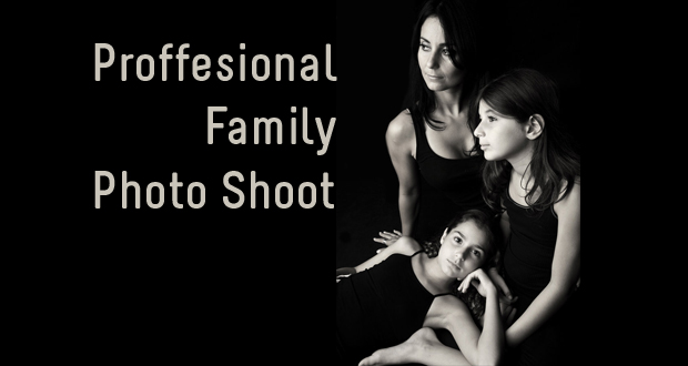 Professional 30-minute family photo shoot at Photomax Photography (Sandton) for just R225 (value R950)