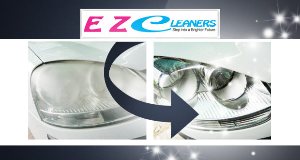 Give your headlights a new lease on life with a service from EZ Cleaners for R399 (value R675)