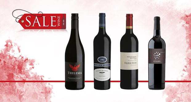 Get a case of assorted bottles of red wine from top vineyards for only R599 (value R850)