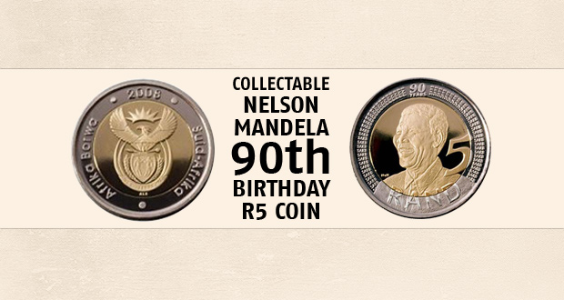 A collectable Mandela graded coin (MS 66) is yours for only R349 (Value R499) – (national counter-to-counter delivery)