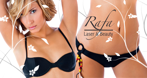 Get ready for summer with a laser hair removal treatment at Rafa Beauty salon (Hyde Park) for R499 (value R1250)
