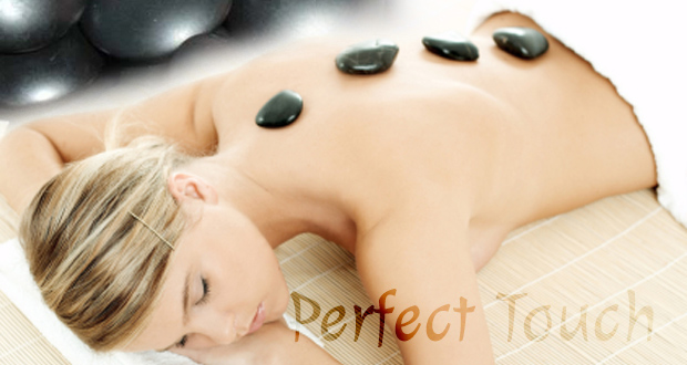 Experience deep relaxation with a 30-minute hot stone aromatherapy massage at Perfect Touch for R95 (value R240)(Edenvale)