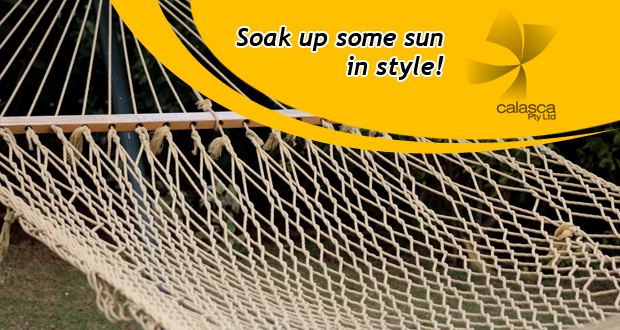 Enjoy lazy summer days in this Hammock for R499 (value: R999) - includes nationwide delivery