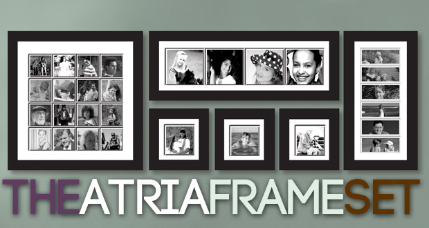 Get the Atria frame set (six frames) and Designs by Pen will retouch, print and frame up to 29 of your favourite photos for only R1 299 (value R2 500) (including nationwide delivery)