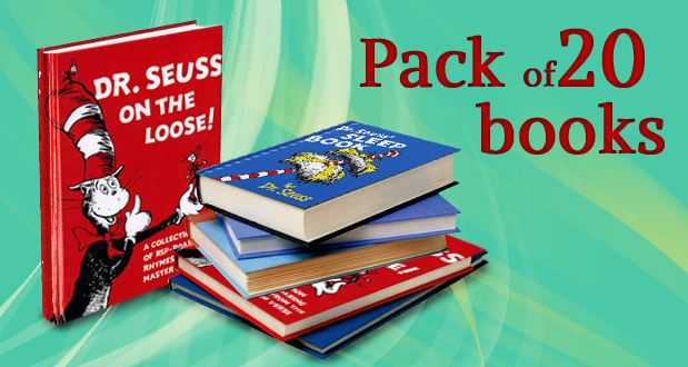 11 million readers can't be wrong. Get 20 hardcover Dr Seuss titles from Basically Books, including delivery, for R495 (delivery via courier in Jhb, via postal service to other areas) (value R1 200)