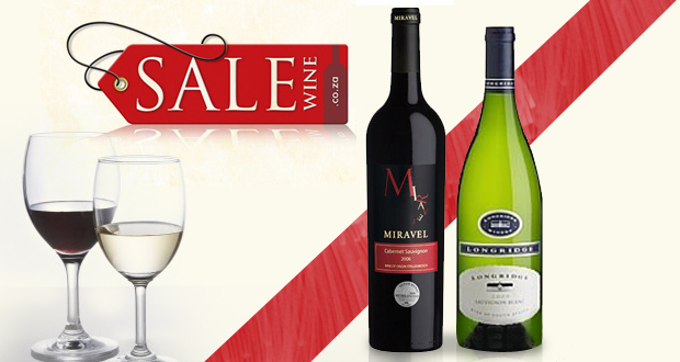 Great case of assorted wines for only R550 – nationwide delivery included (value R900)