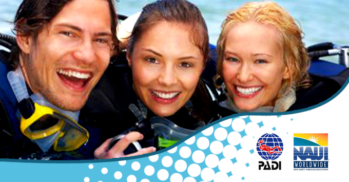 Take the plunge with this introduction to PADI/NAUI scuba diving training course for two people for R99 (value R300) (Centurion)