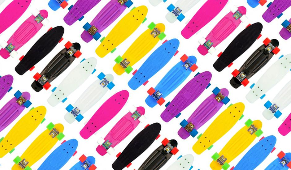 Caps, Crazy Laces & Colourful Skateboards From R20