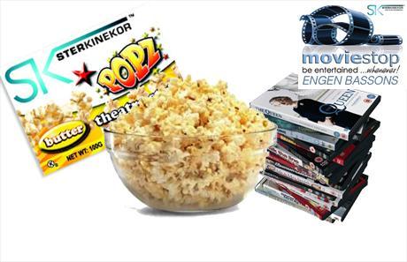 Engen Bassons: Popcorn & 15 DVD Rentals
