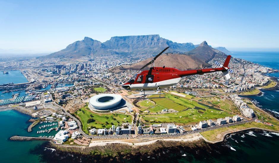 5 Cape Town & Stellenbosch Heli Rides From R440