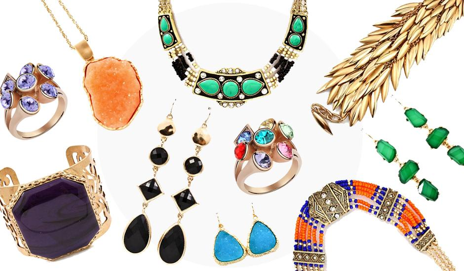 Dazzle with Imported Statement Jewellery From R89