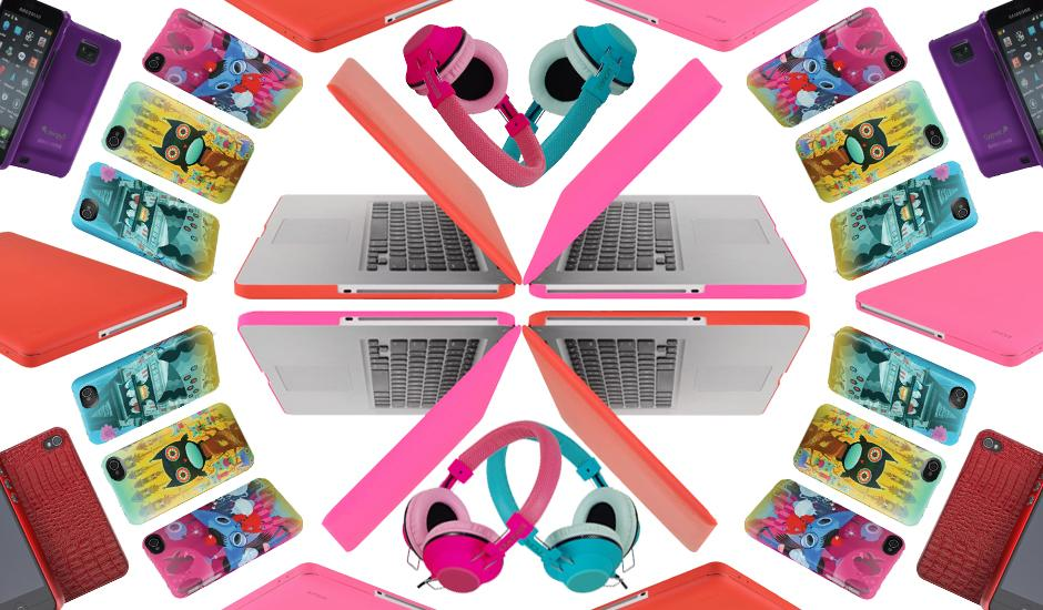 Colourful Cell + Mac Cases & Awesome Audio Add-ons
