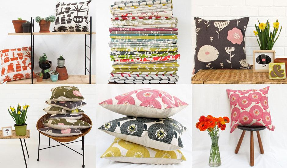 Renowned Designer's Scandi-inspired Cushion Covers
