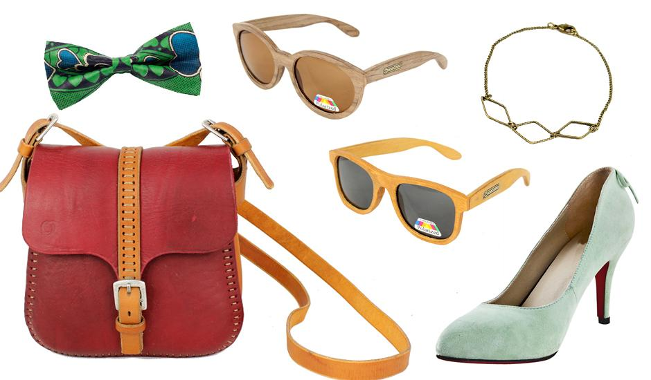 Bamboo Shades, Leather Bags & Jewellery, From R99