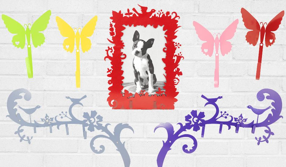 Fun & Functional Colour Coated Décor, From R45