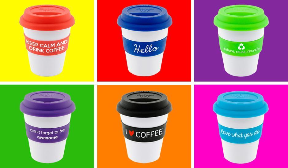 Fun & Fuss-free Eco Coffee Cups
