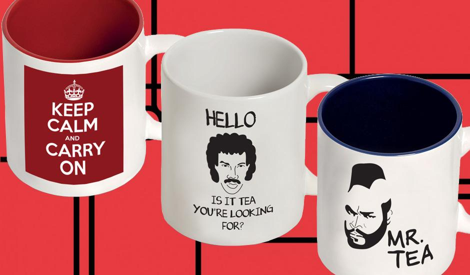 Customised Mugs for Your Daily Cuppa