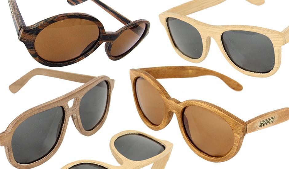 Eco-friendly, Locally Designed Wooden Sunglasses