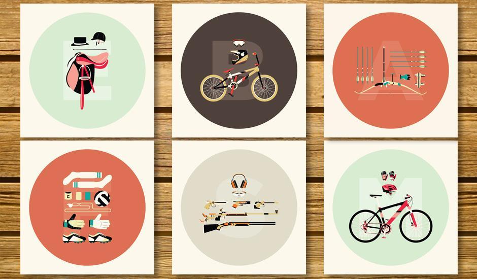 Sports Illustrations Turned Art Prints