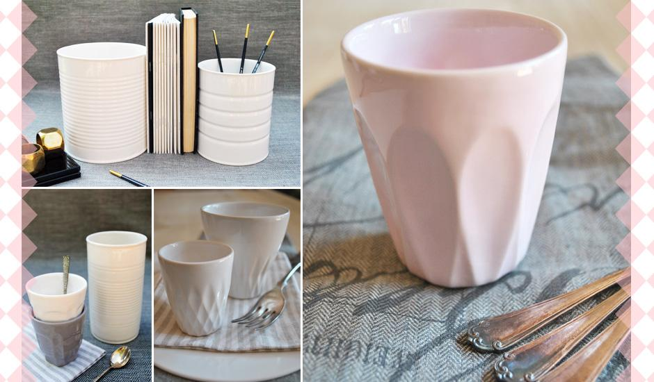 Charming Ceramics for Coffee, Ice Cream & More