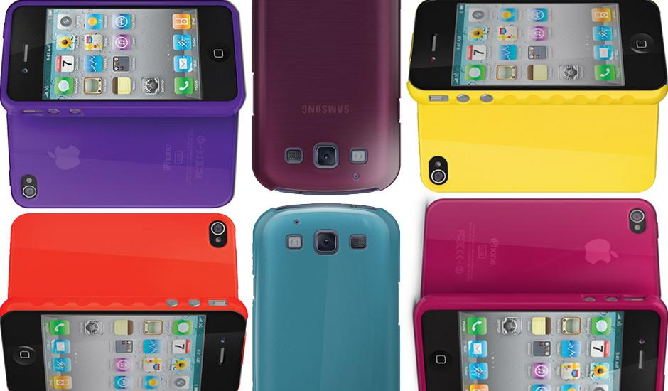 Colourful iPhone & Samsung Galaxy Cases