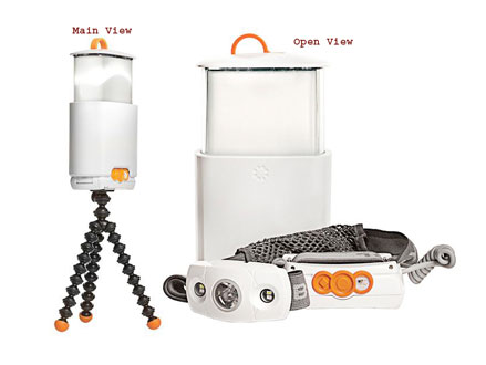 A Headlamp and Lantern in One! Pay R499 for a Joby GorrilaTorch Switchback, the Headlamp that turns into a Lantern, valued at R849 from Wintec Solutions (42% off). Nationwide Delivery Included