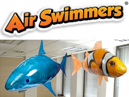 Great For The Kids! Pay R360 for an Air Swimmers Inflatable Remote Control Flying Shark or Fish, valued at R720 from Shopping Buddy (50% off). Nationwide Delivery Included