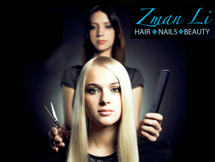 Revamp Your Look! Pay R280 for a Cut and Blow-Wave, A 10-Minute Scalp Massage, a Treatment Of Your Choice, and 20% off Your Next Appointment, valued at R560 from Zman Li Hair, Nails And Beauty in Glenhazel (50% off)