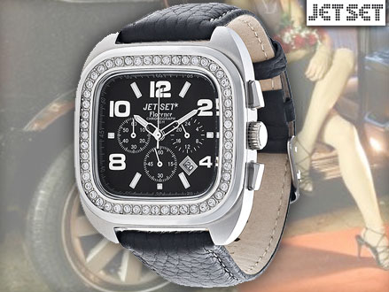 Pay R499 for a Jet Set J40402-237 Ladies Florence Watch in Black, valued at R2799 from DealClick Watches (83% off). Includes Nationwide Delivery