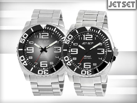 Pay R899 for a Jet Set Miami Watch in 1 of 2 Colours, valued at R2999 from DealClick Watches (70% off). Nationwide Delivery Included