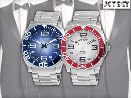 Pay R749 for a Jet Set Miami Watch in 1 of 2 colours, valued at R2599 from DealClick Watches (72% off). Nationwide Delivery Included