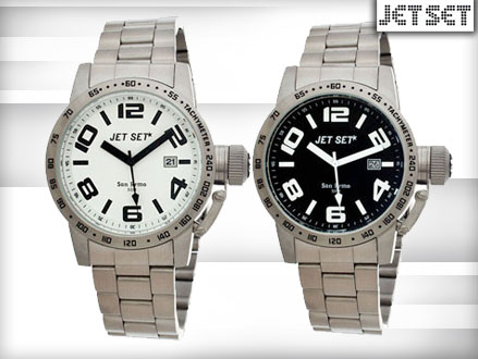 Pay R699 for a Jet Set San Remo Men's Watch in 1 of 2 colours, valued at R2299 from DealClick Watches (70% off). Nationwide Delivery Included
