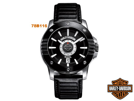 Pay R1199 for a 78B116 Harley Davidson Men's Strap Watch valued at R3899 from DealClick Watches (70% off)