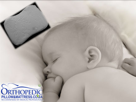 Your Baby Deserves a Good Night's Sleep! Pay R300 for a Memory Foam Baby Pillow, valued at R699 from Orthopedic Pillow and Mattress (57% off). Nationwide Delivery Included