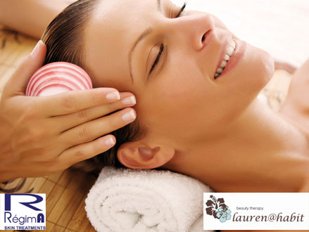 A Package Like No Other! Pay R300 for a 45 Minute Back and Neck Massage, Eyelash and Brow Tint, Manicure, and 45 Minute Reflexology Foot Massage, valued at R855 from Lauren@Habit, Fourways (65% off)