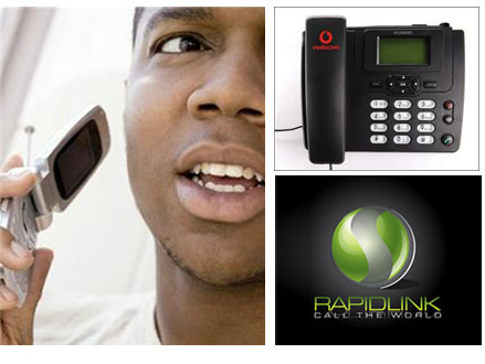 Pay R450 for a Huawei Vodacom Wireless Desktop Phone with R75.00 Prepaid Airtime, valued at R975 from Rapid Link (54% off). Includes Cellular Calls for 0.90c per minute to any Cellular Network. Nationwide Counter to Counter Delivery Included