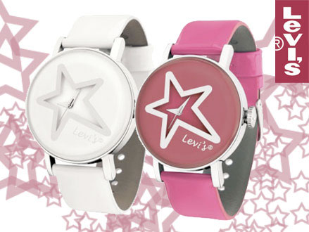 Pay R379 for a Levi's White Star Style Ladies Watch in either White or Pink, valued at R1099 from DealClick Watches (66% Off). Nationwide Delivery Included