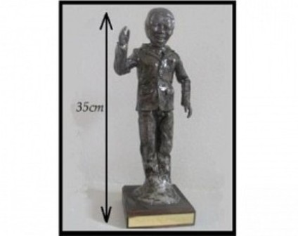 Celebrate Madiba! Pay R800 for a Limited Edition Nelson Mandela Statue, valued at R2000 (60% off). Nationwide Delivery Included