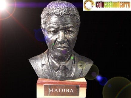 Keep Madiba Close! Pay R800 for a Limited Edition Nelson Mandela Bust Statue, valued at R2000 (60% off). Nationwide Delivery Included