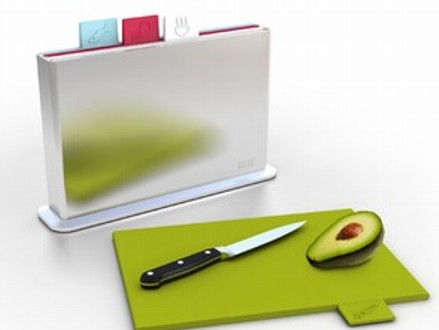 Pay R299 for a Cutting Board Set Consisting of 4 Colour-Coded Chopping Boards in a Convenient Countertop Stand, valued at R599 (50% off). Nationwide Delivery Included