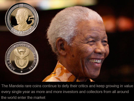 Your Chance to Own 2 Collectable Coins! Pay R999 for a Limited Edition 2008 Nelson Mandela MS 67 R5 Coin, as well as a 90th Anniversary SA Reserve Bank MS67 Coin, valued at R3300 (70% off). Includes Nationwide Counter To Counter Delivery